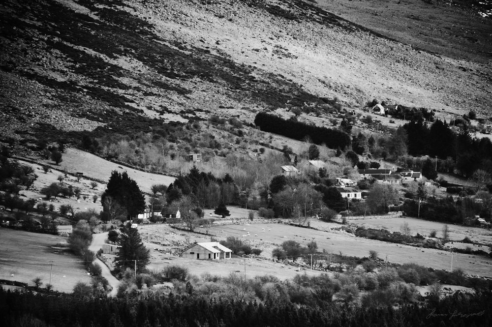 Winding Road in the Wicklow Mountains