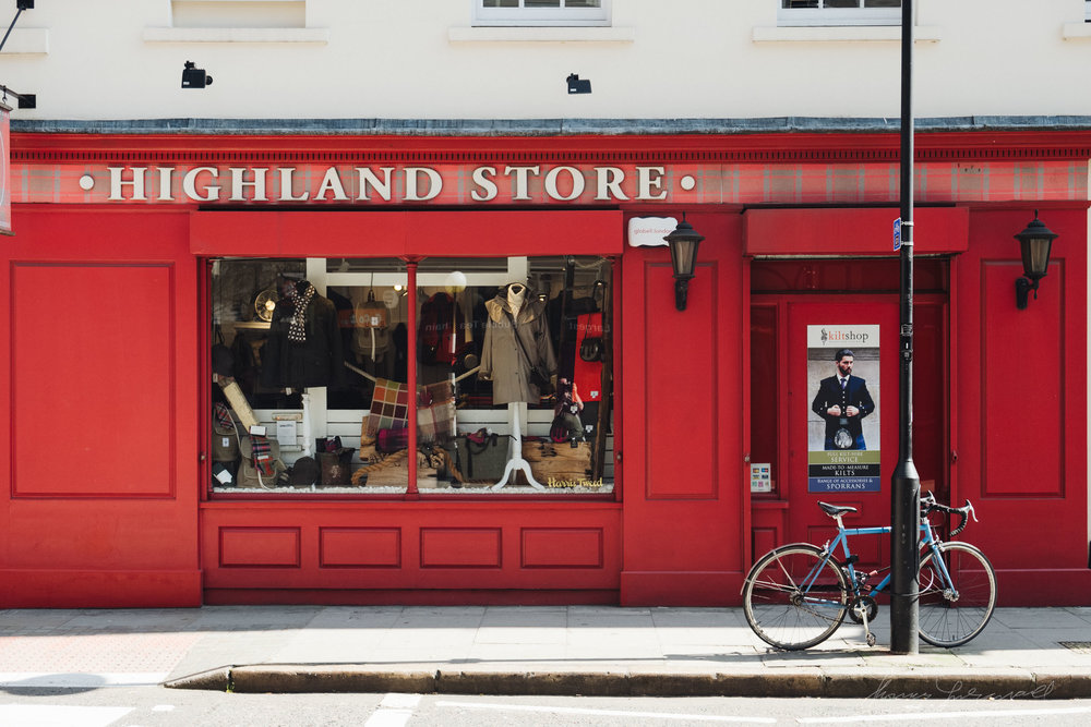 The Highland Store in London