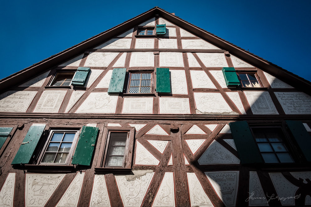 Medieval building, Heppenheim, Germany