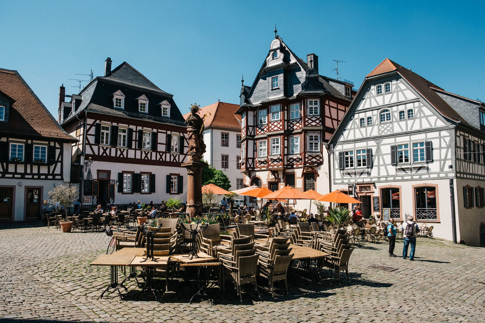 Town Square, Heppenheim, Germany