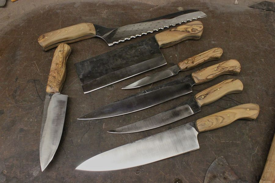 A Very Large Handle And 2 Knife Sets Serenity Knives