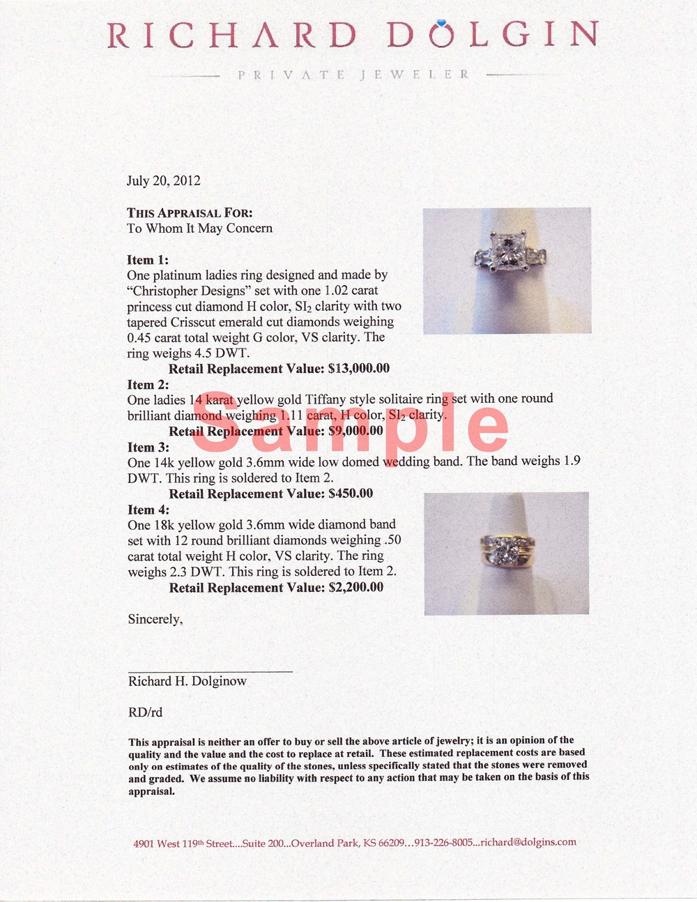 appraisals engagement rings diamonds and jewelry