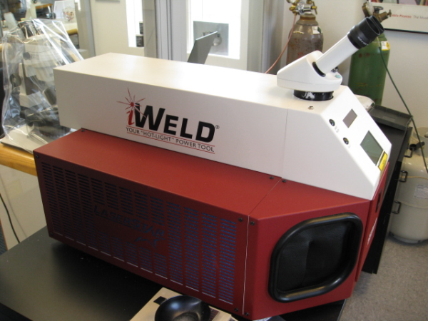 State-of-the-art laser welder