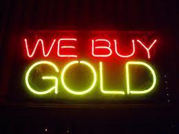 Gold Buy Neon