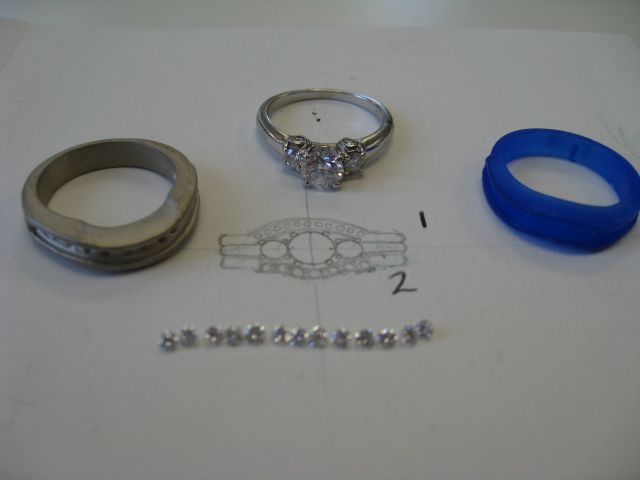 Phases to create a wedding ring