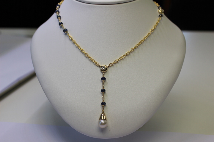 Pearl Sapphire and Diamond Necklace.JPG