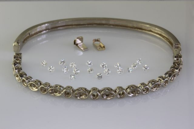 Custom Diamond Bracelet
