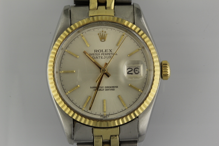 Rolex Stainless and Gold