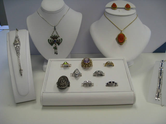 Estate jewelry at Richard Dolgin Private Jeweler.