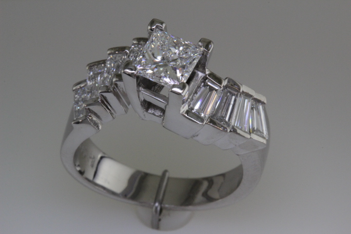 Finished wedding ring.