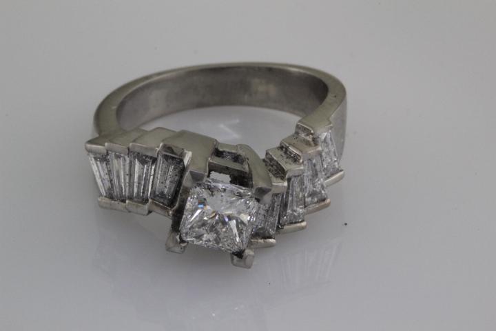 Casting with diamonds