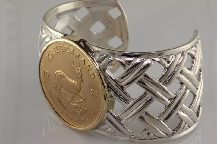 Krugerrand bracelet