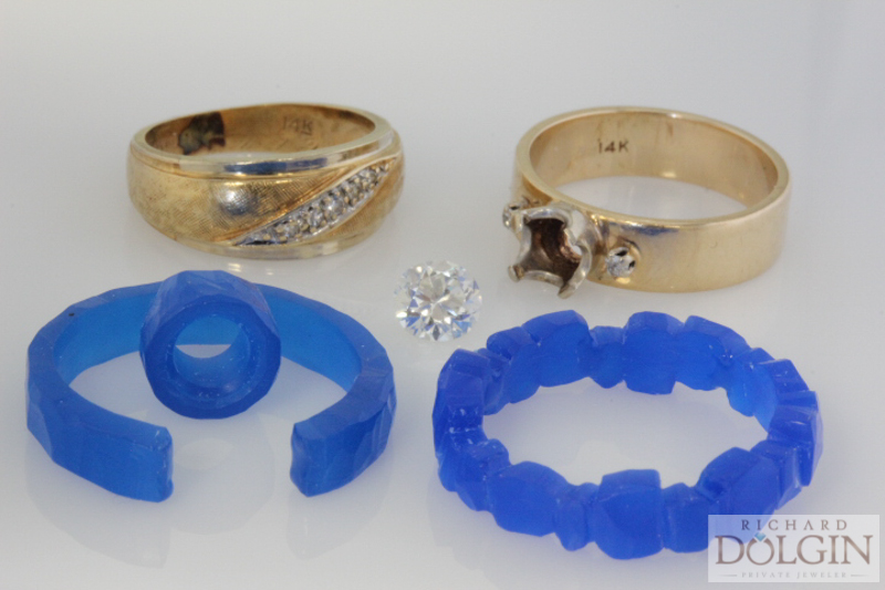 Wax models and family rings