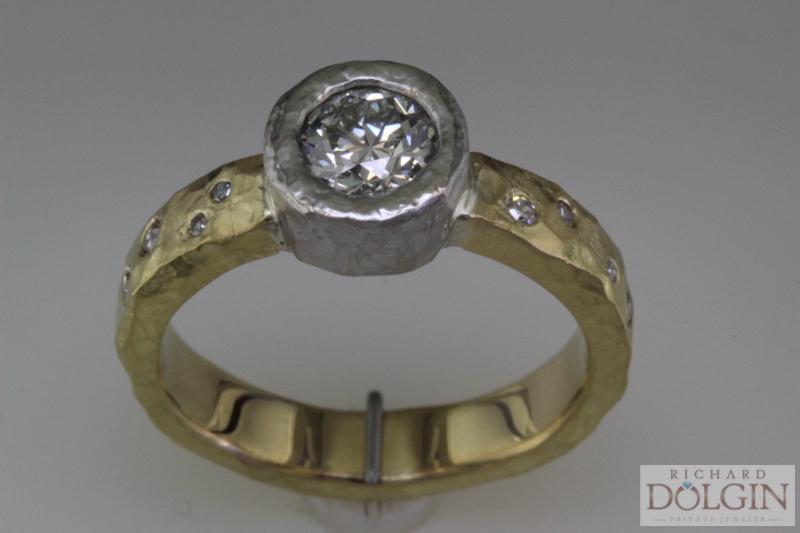 Finished engagement ring