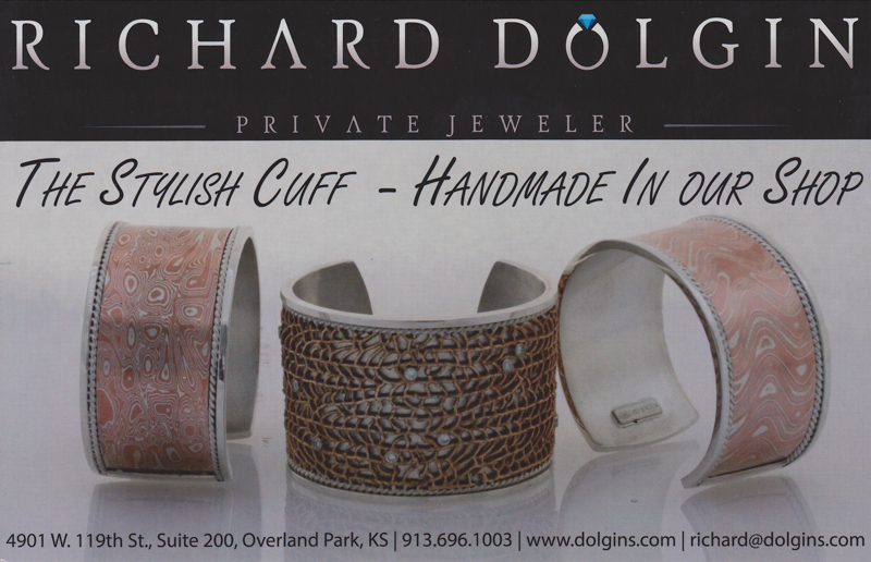 Custom crafted cuff bracelets from Richard Dolgin Private Jeweler