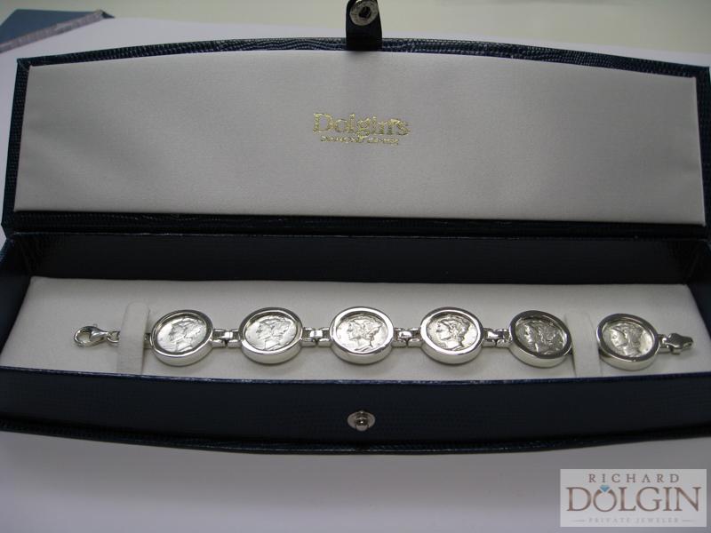 Mercury Dime Bracelet