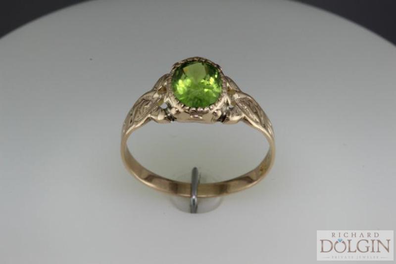 Peridot Antique Ring
