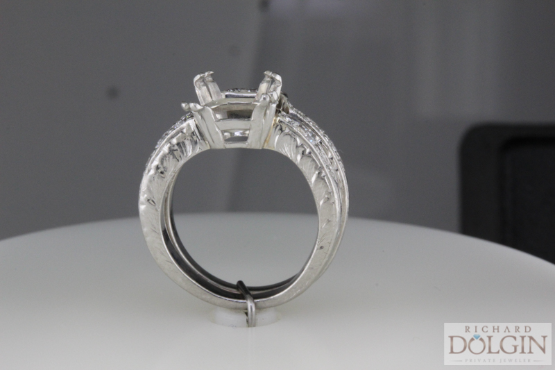 Restoring a tacori ring engagement rings diamonds and for Wedding rings kansas city