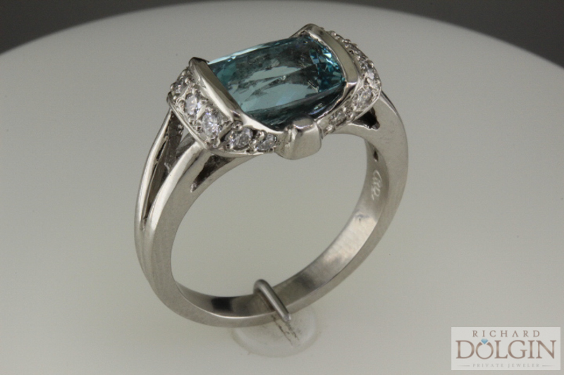 Ring angled view
