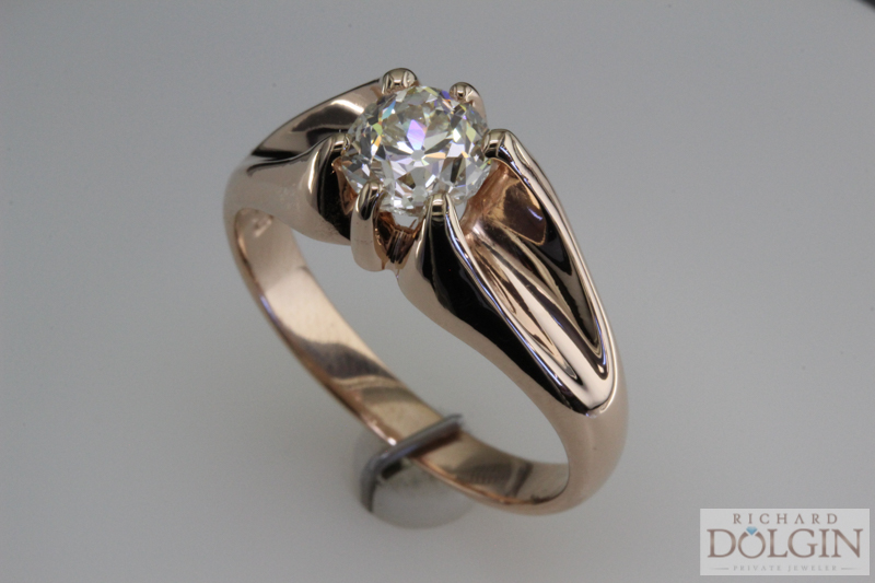 Belcher Diamond Setting