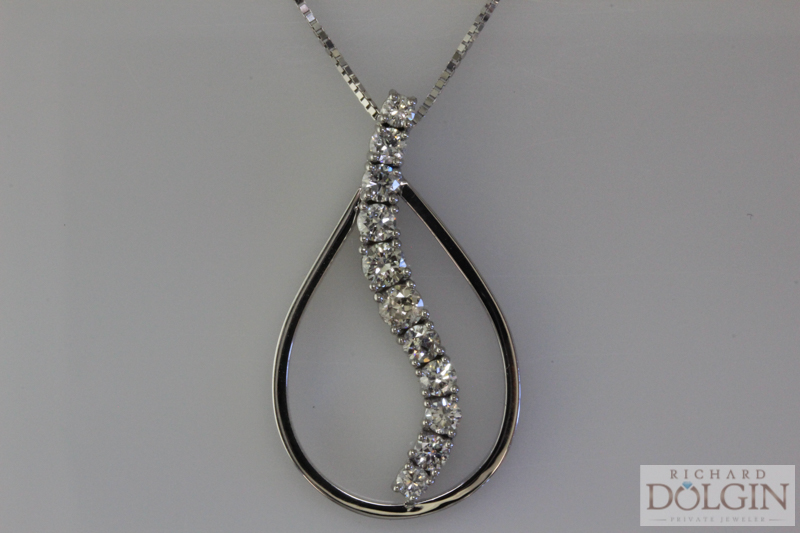 Custom Designed Diamond Pendant