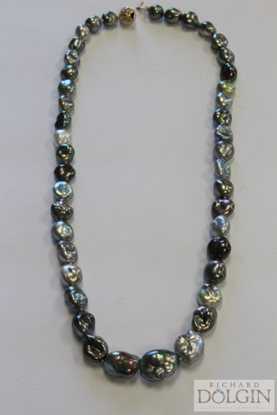Keshi Tahitian Pearl Necklace