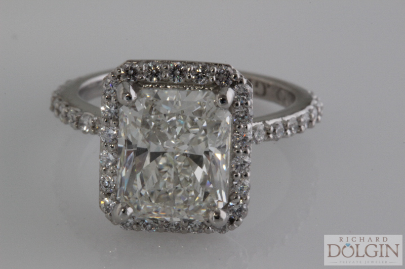 3 carat radiant cut diamond