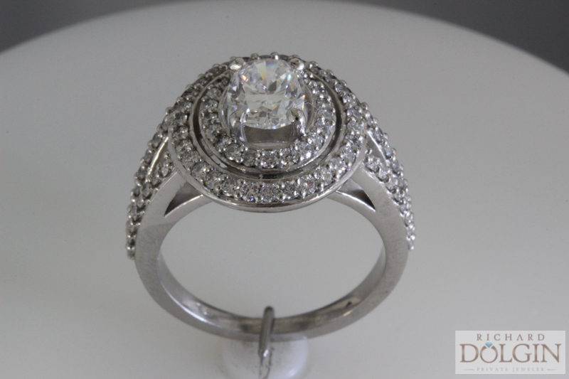 Updating Your Diamond Engagement Rings Diamonds and Fine Jewelry