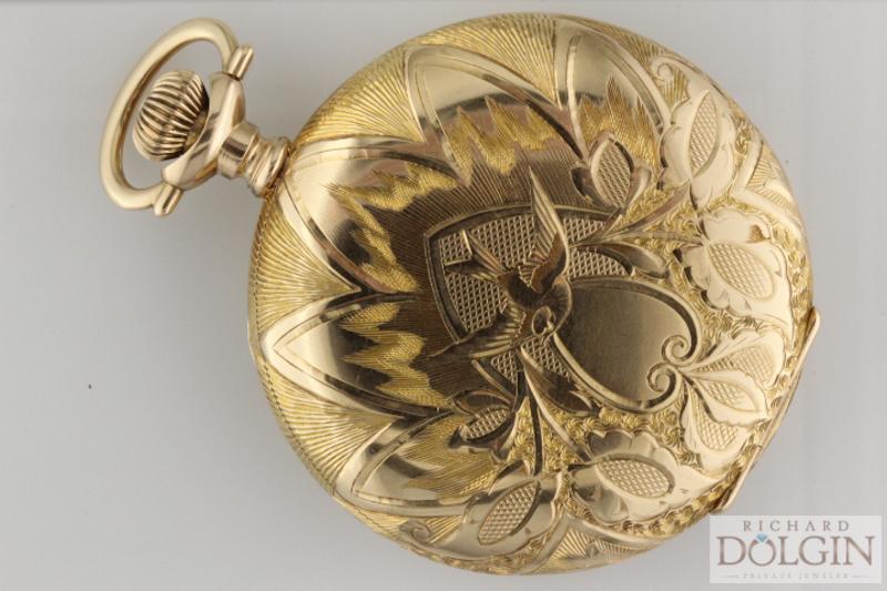 Elgin Pocket Watch Case