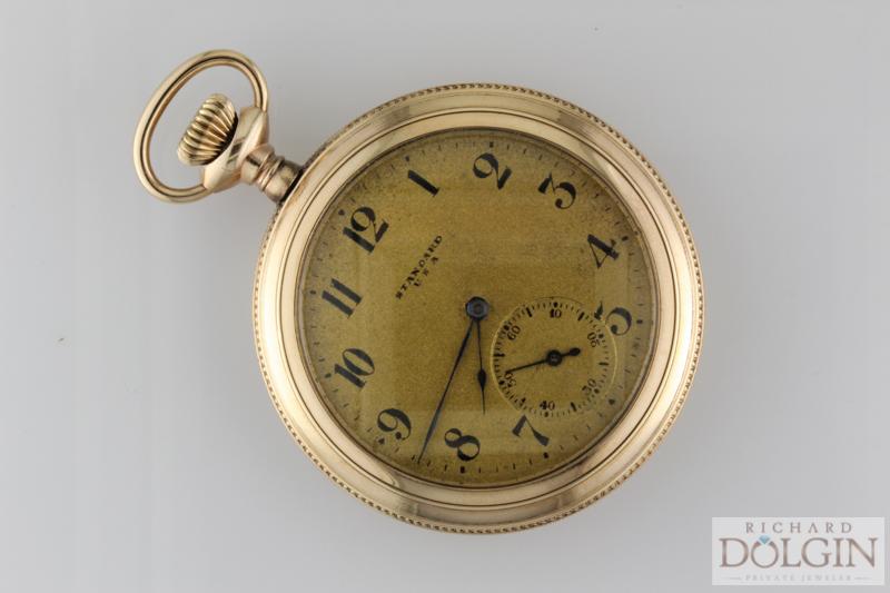 Standard Gold Pocket Watch