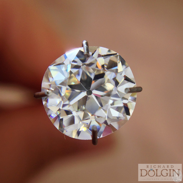 Old European cut diamond