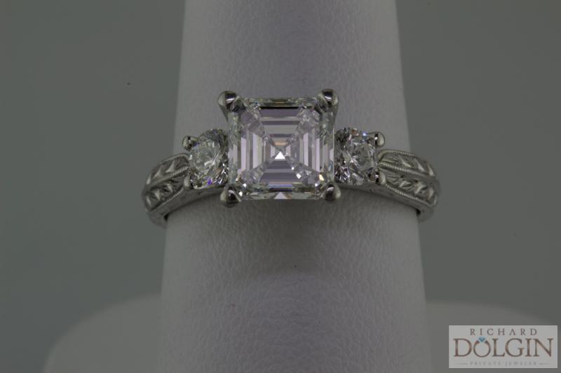Ascher Cut Diamond