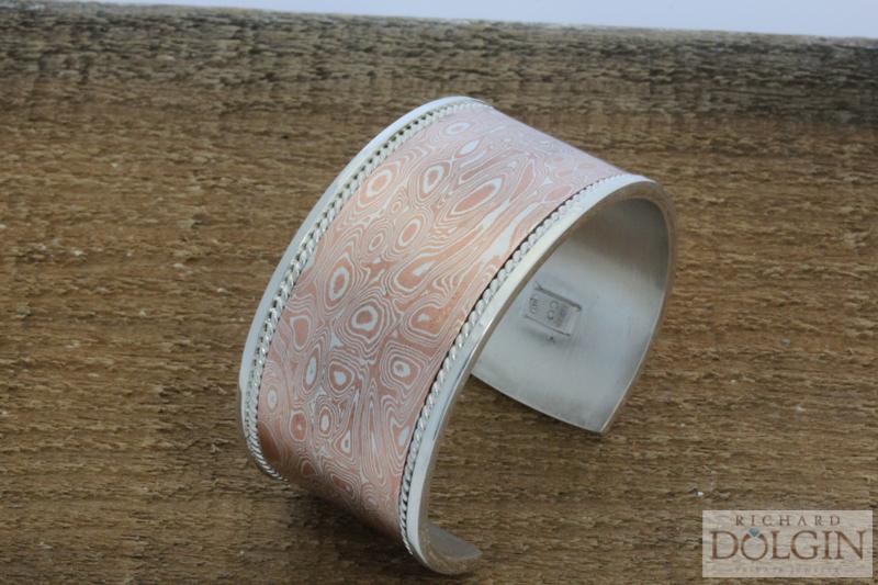 Mokume bracelet