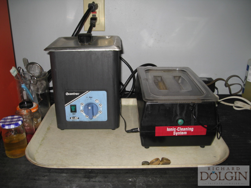 Ultrasonic and Ionic cleaners