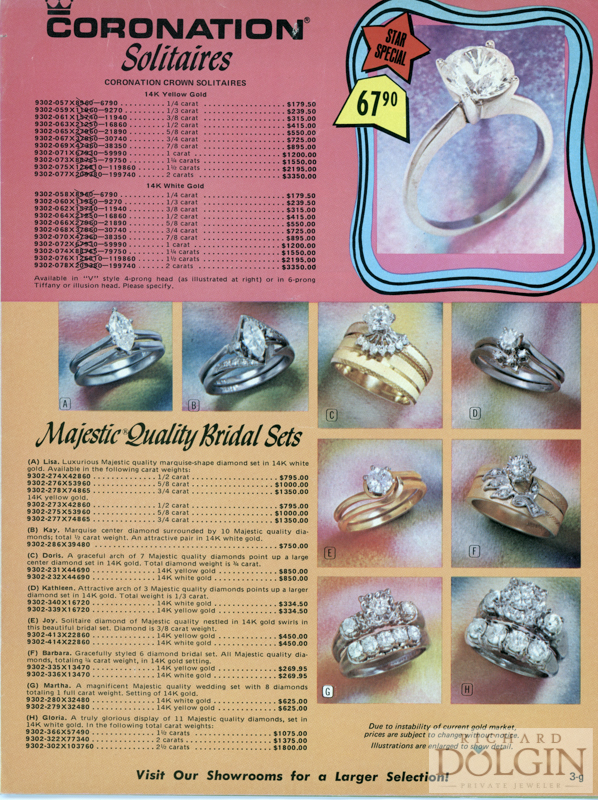 1972 Catalog opening page