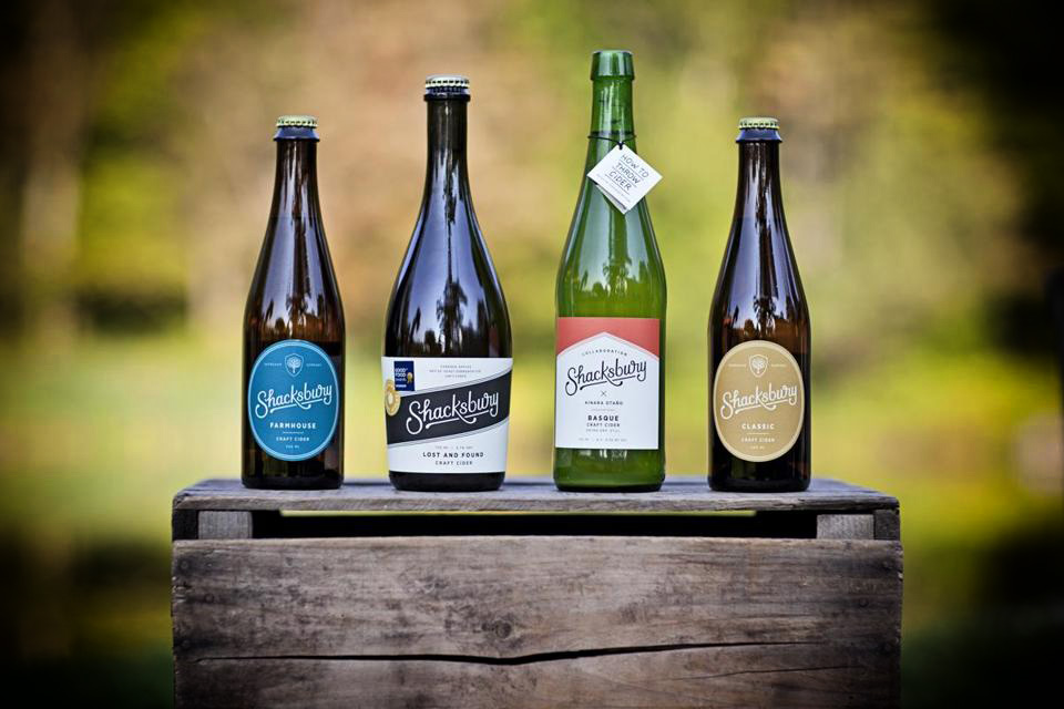 My youngest son owns Shacksbury Cider. I am excited to see him and drink his latest craft creations.