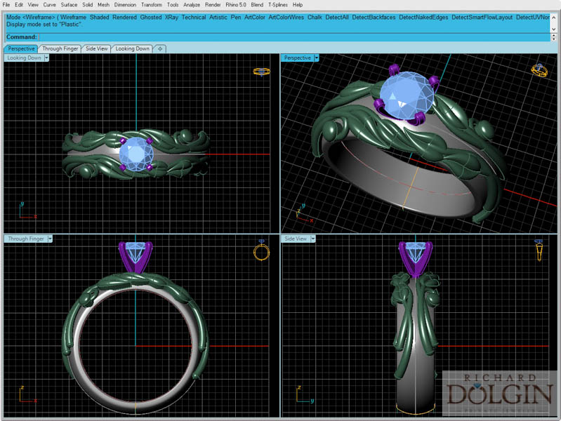 CAD/CAM model designs