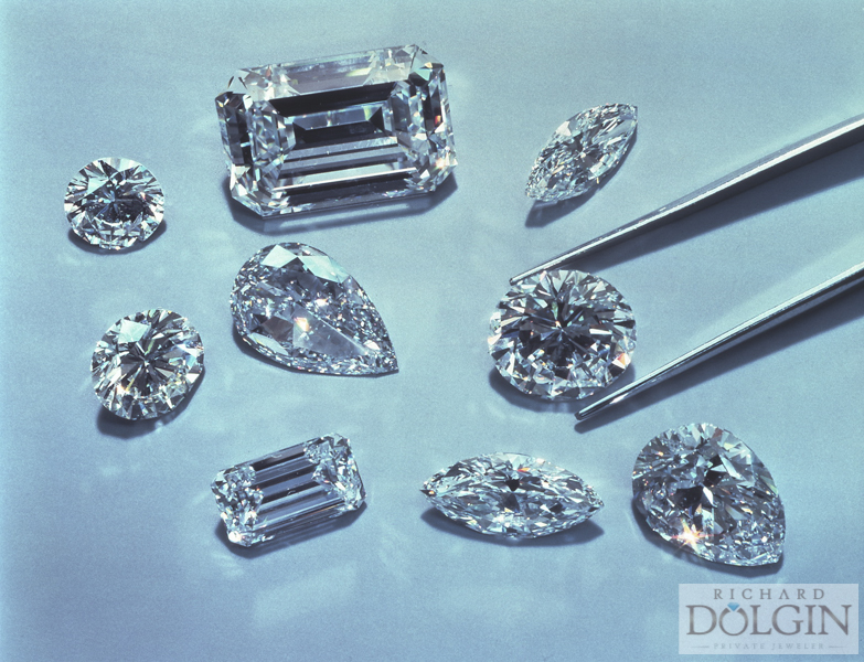 Picking the shape of diamond