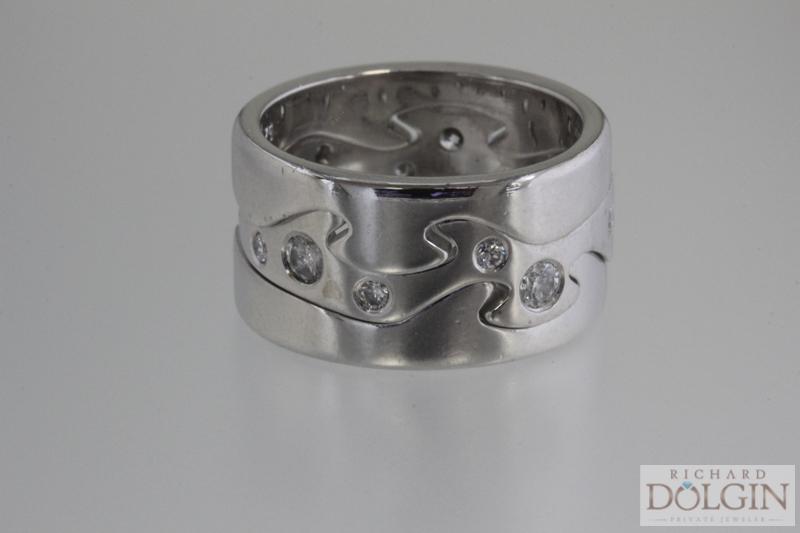 Designer stackable ring