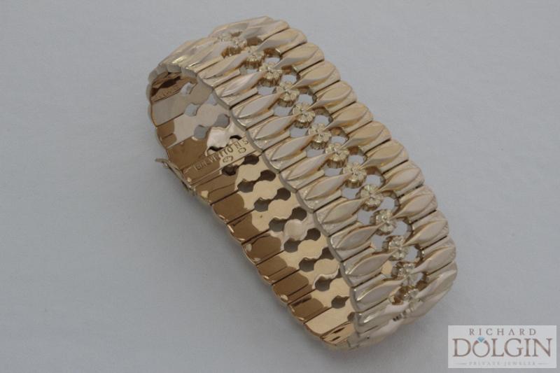 Rose gold antique bracelet