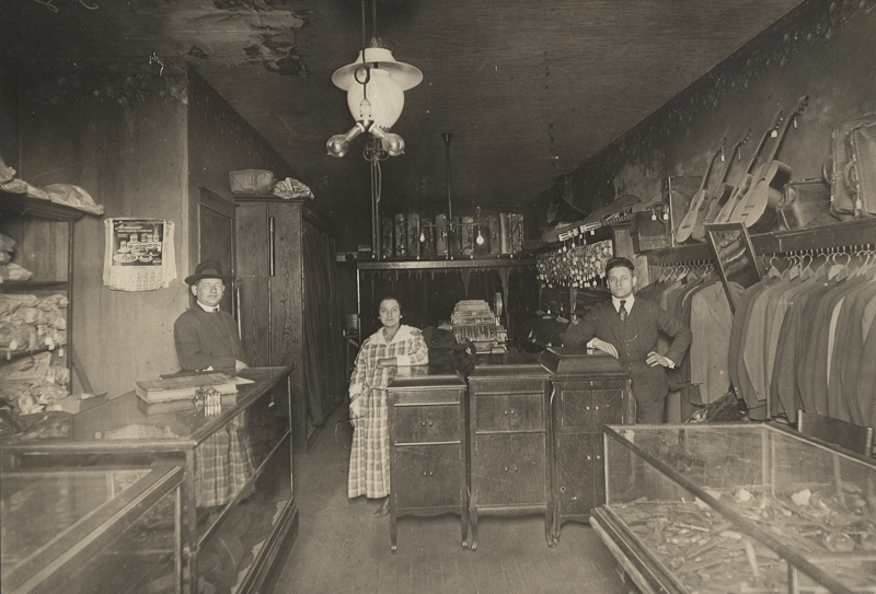 Store in the early 1900s
