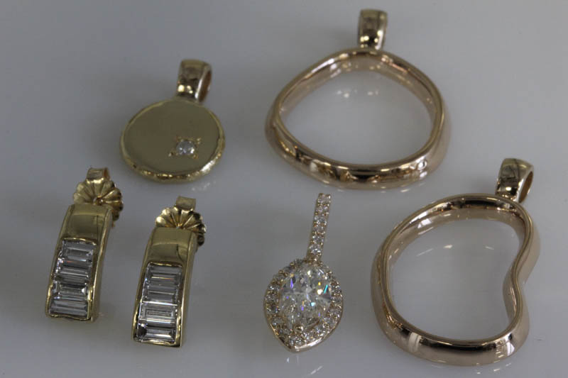Pendants Made From Jewelry From the Past