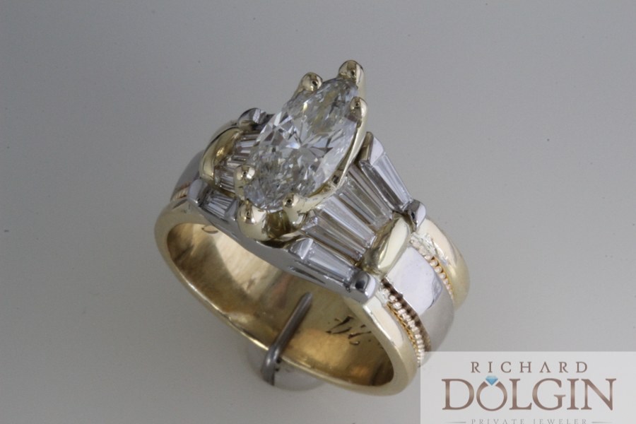 Remade wedding rings