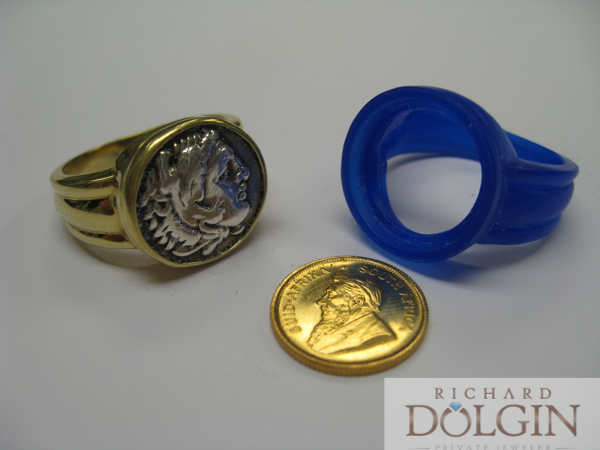 Making of a gents coin ring