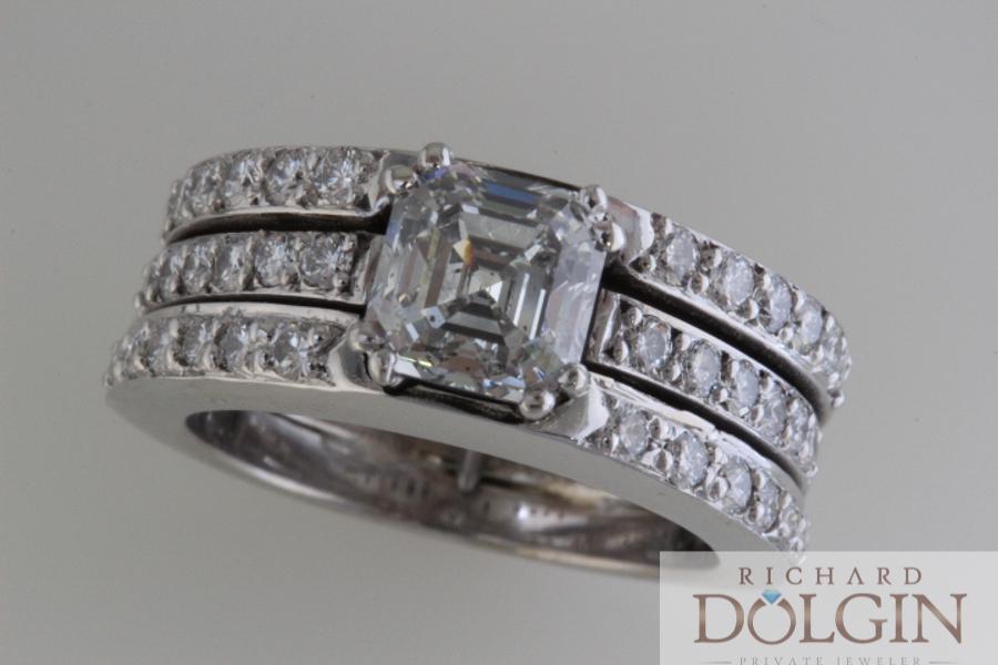 Triple wedding ring