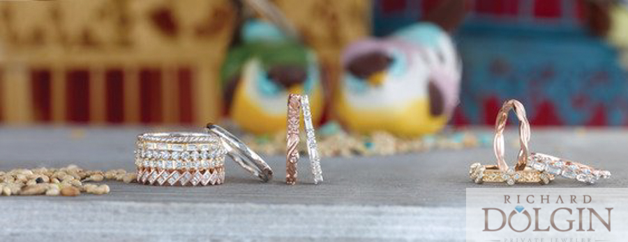 Stackable rings in all shapes and sizes