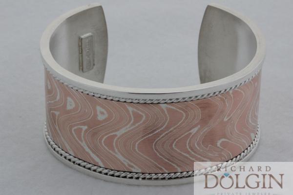 Mokume Gane bracelet