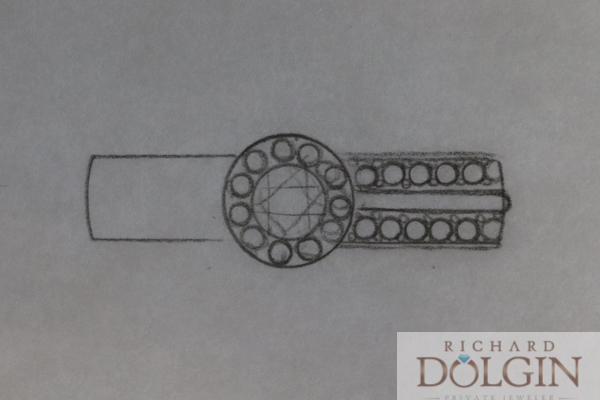 Thumbnail sketch of new ring design
