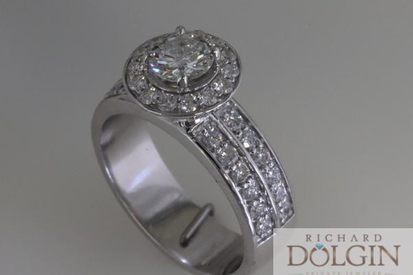 New finished wedding ring