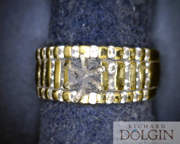 Original worn out engagement ring